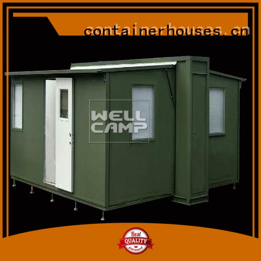 WELLCAMP Brand family expandable container house dormitory factory