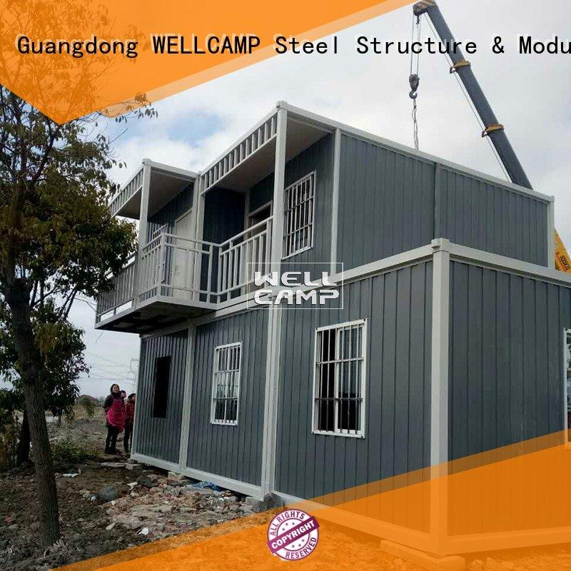 WELLCAMP Brand two ieps office custom prefabricated container house