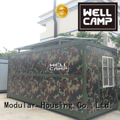 economic holiday WELLCAMP foldable container house