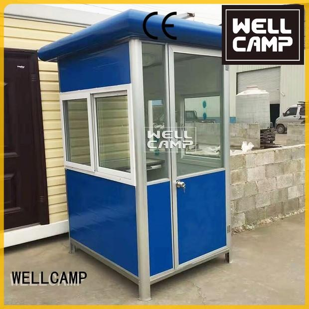 mobile waterproof booth kiosk WELLCAMP Brand security booth supplier