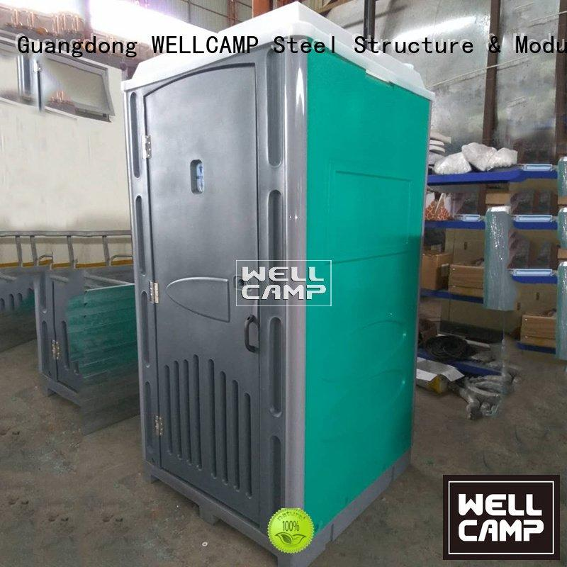 Hot plastic portable toilet movable portable chemical toilet cabin WELLCAMP