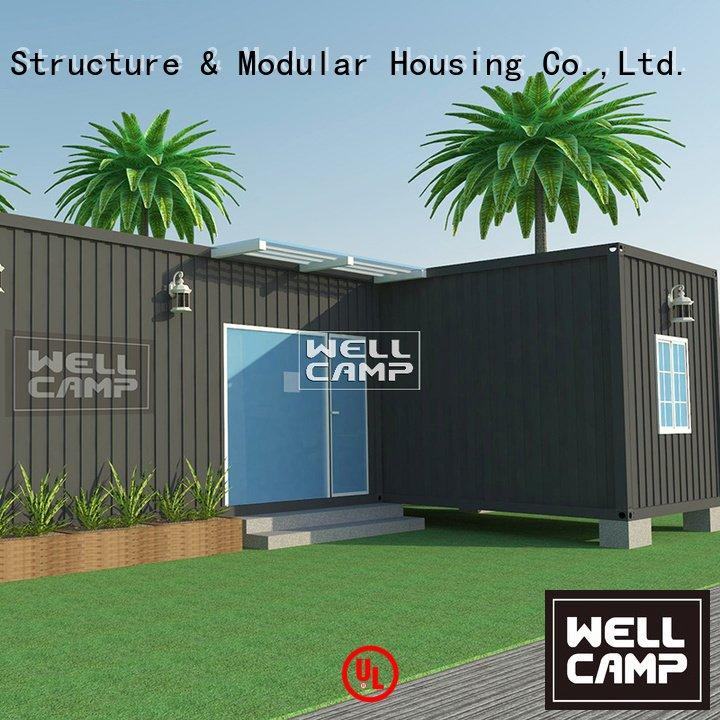 folding portable container villa two WELLCAMP