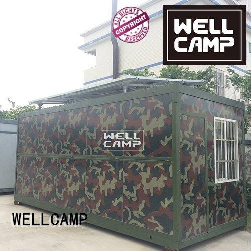 WELLCAMP panel foldable container sandwich family