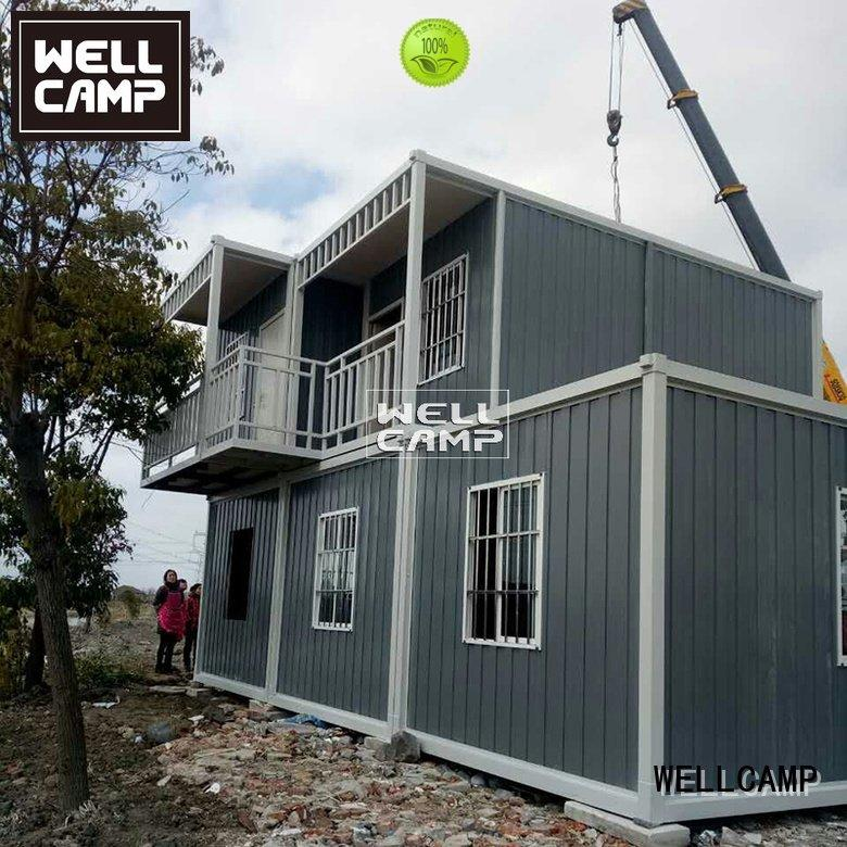 Hot prefabricated container house eco container house for sale house WELLCAMP