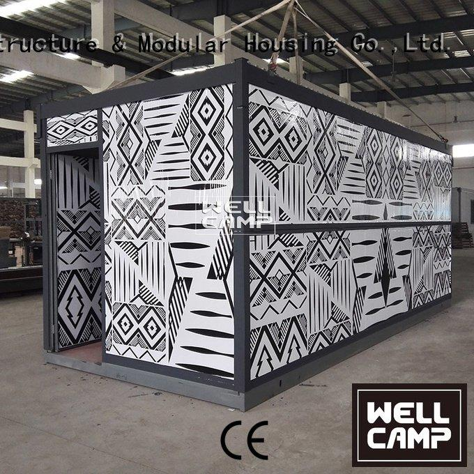 samll office foldable container house WELLCAMP