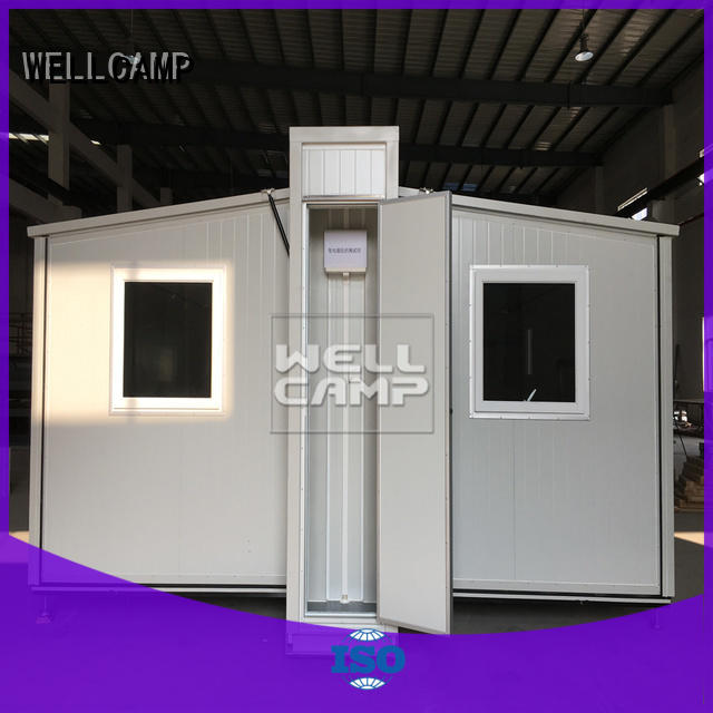 Hot container expandable shipping container home family WELLCAMP Brand