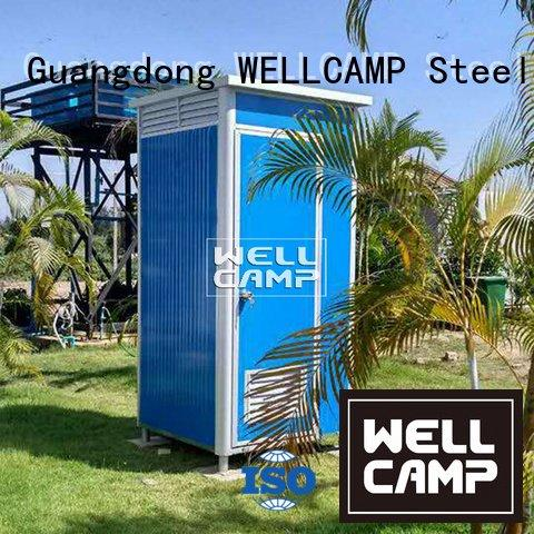 Hot plastic portable toilet color portable chemical toilet protable WELLCAMP