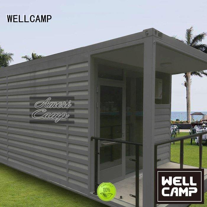 WELLCAMP living shipping container home builders holiday 20gp