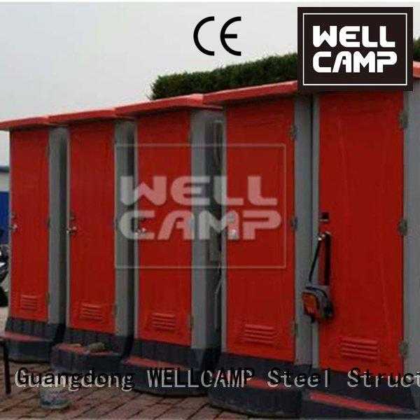 eps sandwich plastic portable toilet WELLCAMP