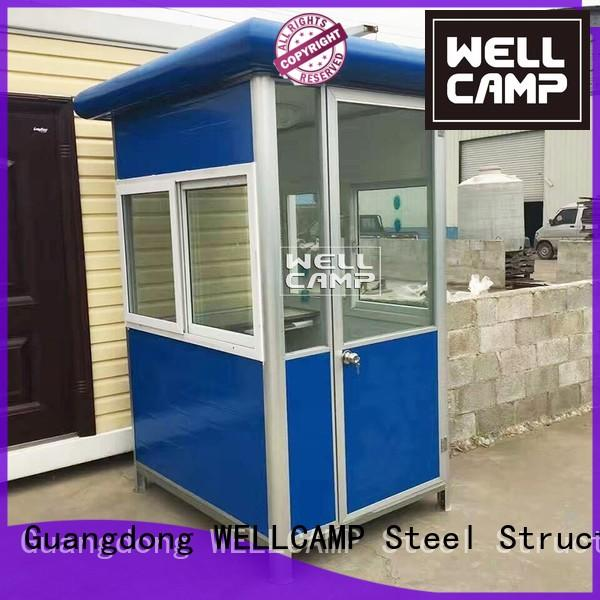 steel sandwich sentry security booth WELLCAMP Brand