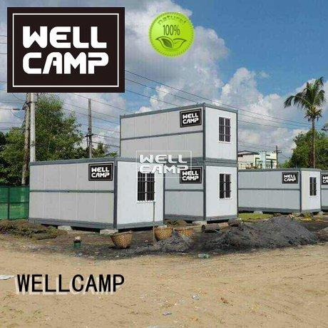 WELLCAMP foldable container house holiday house foldable