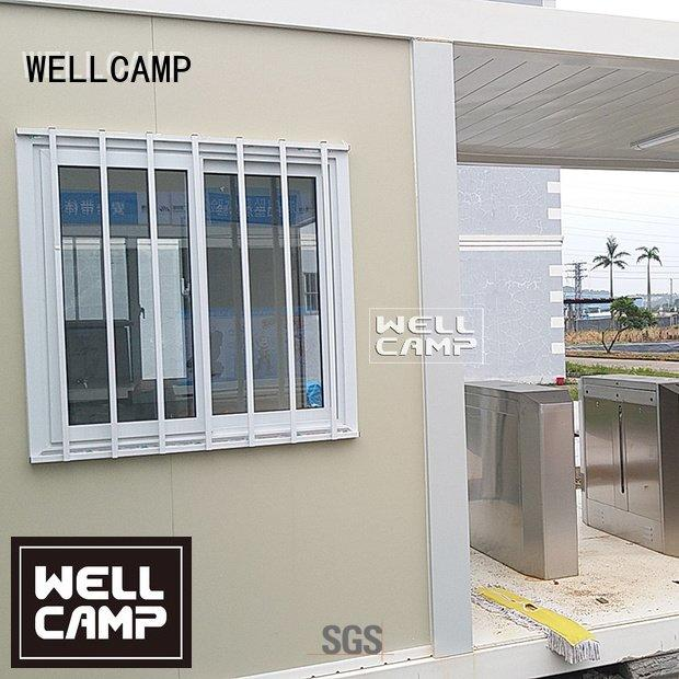 flat pack 20 ft container tiny style OEM flat pack containers WELLCAMP