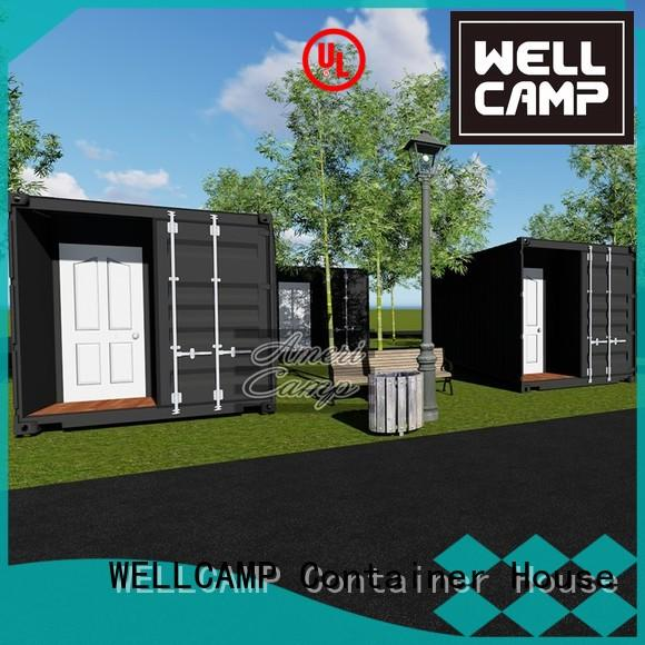 WELLCAMP Brand resort building garden houses made out of shipping containers 20gp
