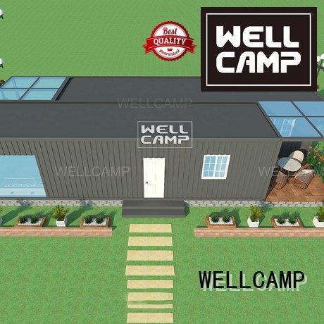 custom container homes floor container villa hotel WELLCAMP