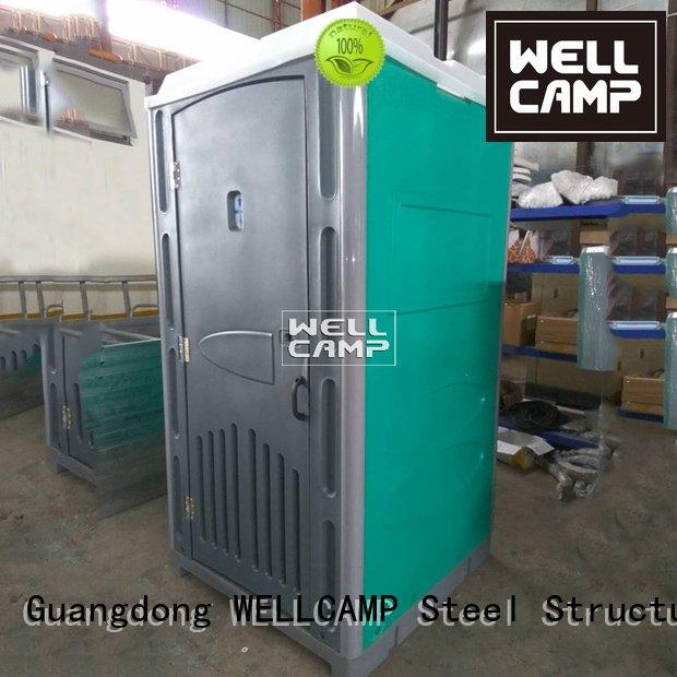 WELLCAMP Brand facilities panel sandwich portable chemical toilet