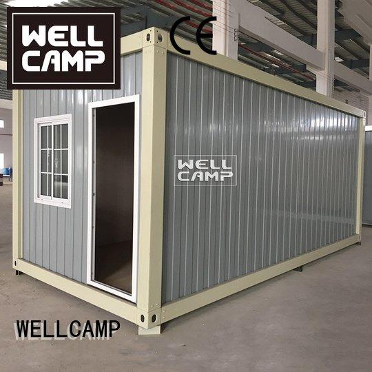 WELLCAMP Brand ieps fireproof container house for sale floor living