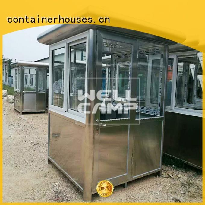 room security booth container feet WELLCAMP company