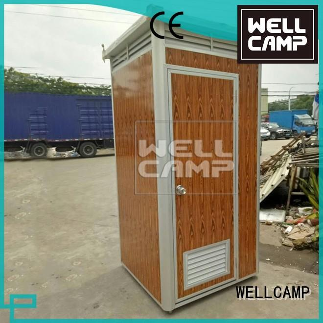 bathroom portable chemical toilet sandwich protable WELLCAMP company