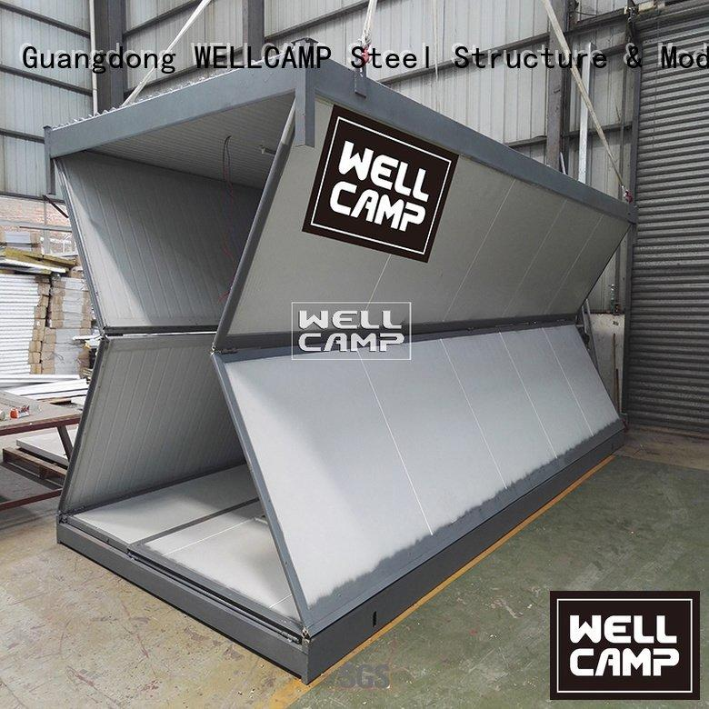 OEM foldable container labor worker foldable container house