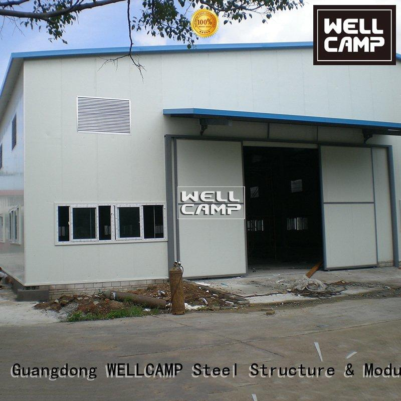 WELLCAMP steel chicken farm or warehouse shed
