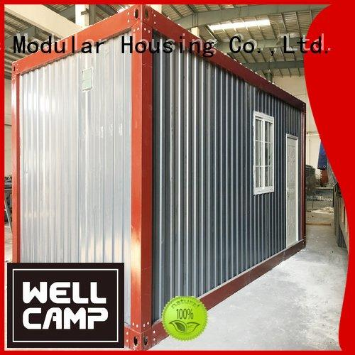 prefabricated container house modified prefab OEM container house for sale WELLCAMP