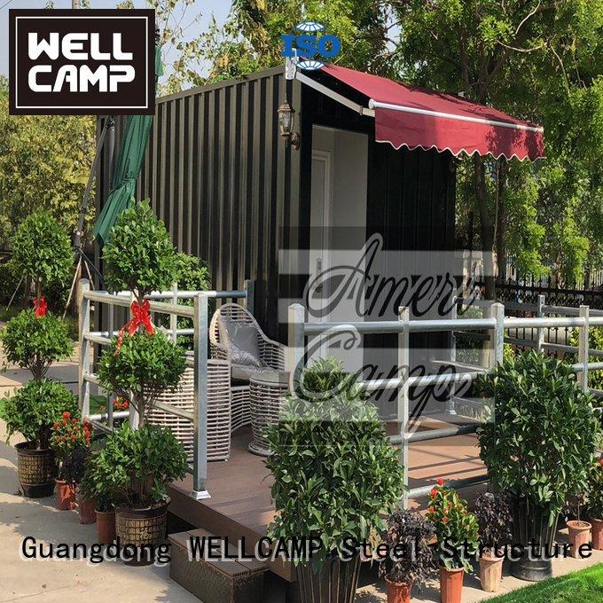 fireproof building shipping container home builders shipping WELLCAMP