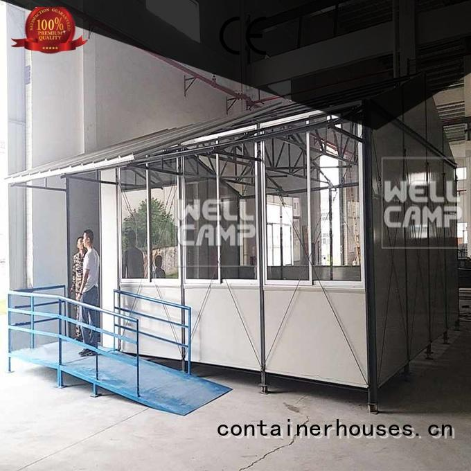 WELLCAMP Brand pack prefab classrooms accommodation supplier