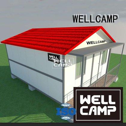 WELLCAMP Brand bedrooms modern one container villa sandwich