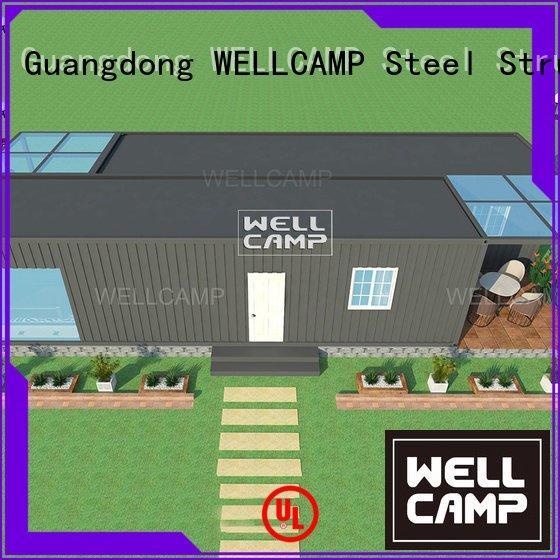 custom container homes ieps resort container villa WELLCAMP Warranty