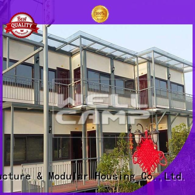 custom container homes kit folding wool WELLCAMP Brand container villa