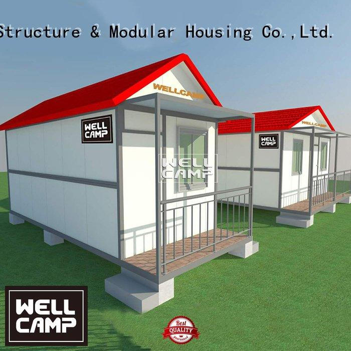 WELLCAMP Brand house hotel custom container homes folding holiday
