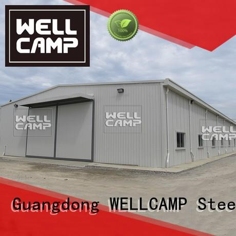 steel chicken farm workshop light steel warehouse WELLCAMP Brand