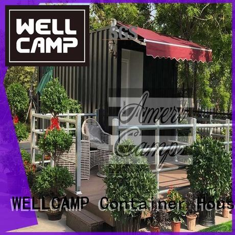 Wholesale prefabricated houses made out of shipping containers holiday WELLCAMP Brand