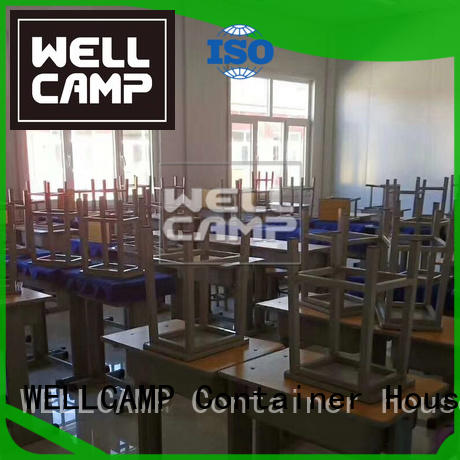 WELLCAMP Brand prefabricated classrooms supplier