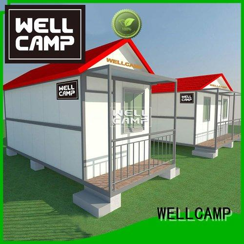 Hot custom container homes portable container villa fllor WELLCAMP
