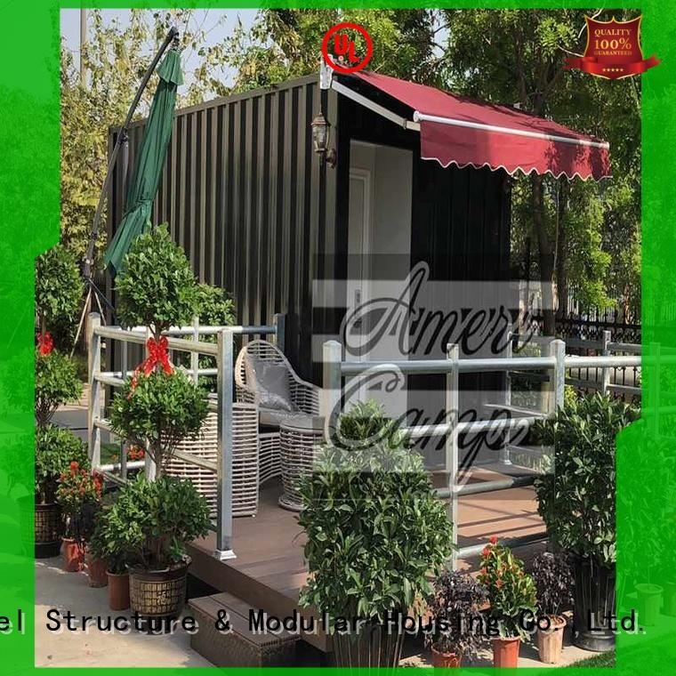 panel sandwich houses made out of shipping containers WELLCAMP Brand