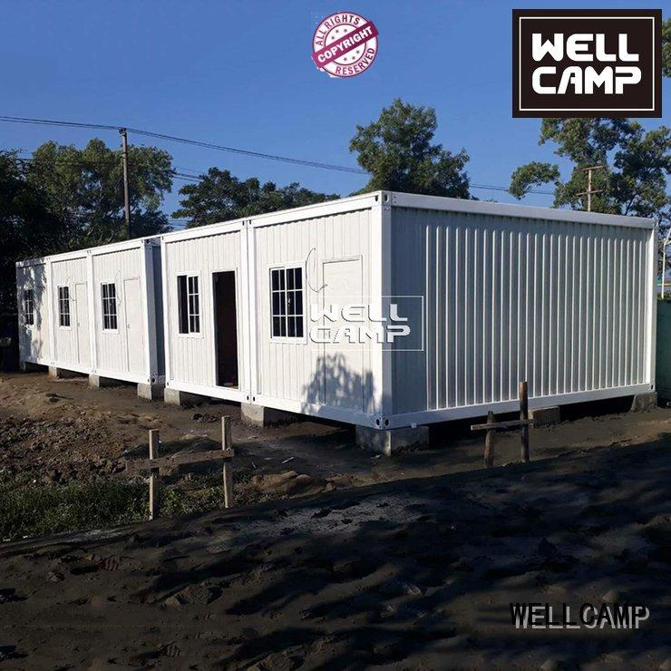 prefabricated container house prefab 50mm modified ieps WELLCAMP