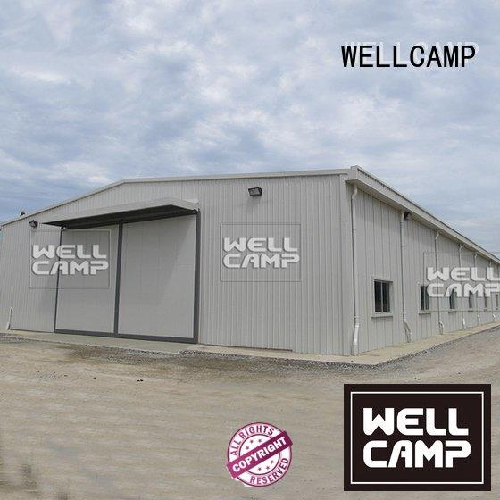 steel chicken farm floor steel warehouse WELLCAMP Brand
