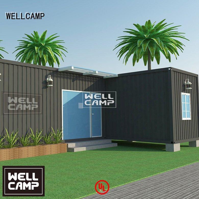 WELLCAMP custom container homes prefab three floors