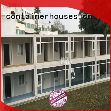 WELLCAMP Brand style cladding flat pack containers fireproof factory