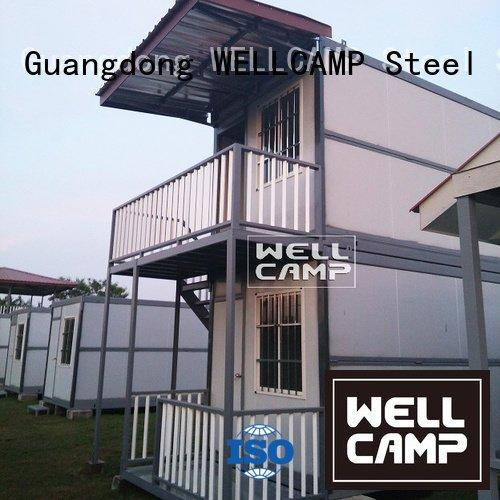 Hot custom container homes installation container villa container WELLCAMP