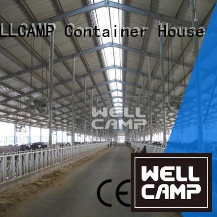 WELLCAMP Brand multifunctional light steel chicken farm office supplier