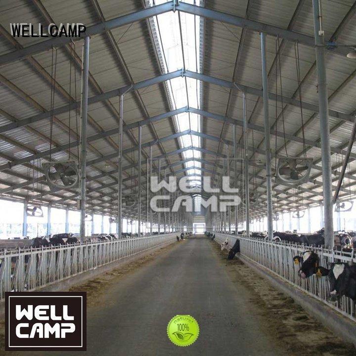 steel chicken farm cow canteen workshop WELLCAMP