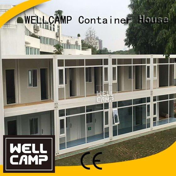 modular pack cladding flat pack containers WELLCAMP