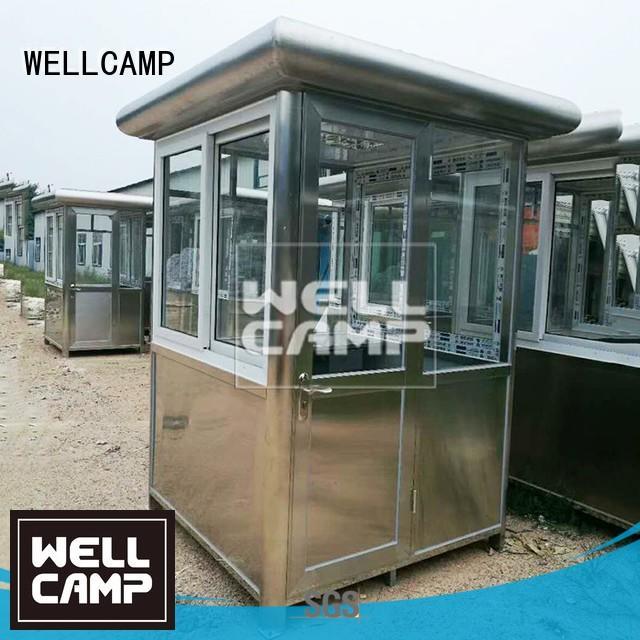 waterproof steel kiosk security booth sentry WELLCAMP