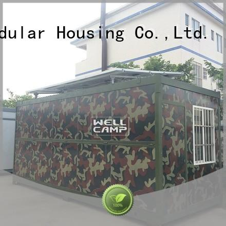 WELLCAMP Brand low colour foldable container manufacture