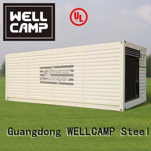 houses made out of shipping containers resort house prefabricated 20gp WELLCAMP