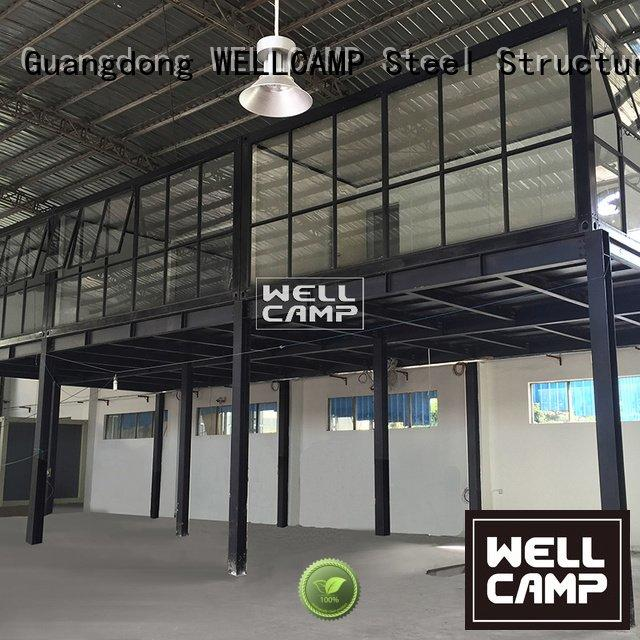 prefabricated container house living friendly container house for sale WELLCAMP Brand