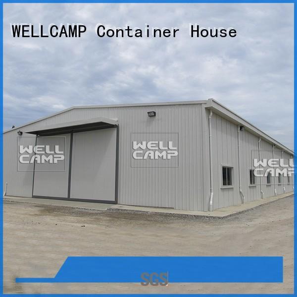 light preengineered WELLCAMP Brand steel chicken farm factory