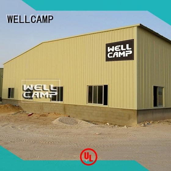 steel chicken farm or canteen farm WELLCAMP Brand steel warehouse